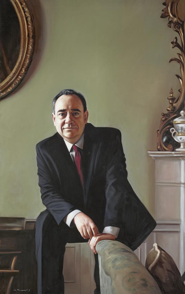 Alex Salmond, b. 1954. Politician (2014)