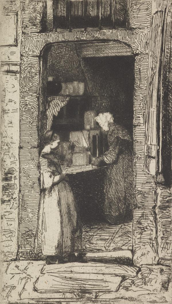 La Marchande de Moutarde (1858)