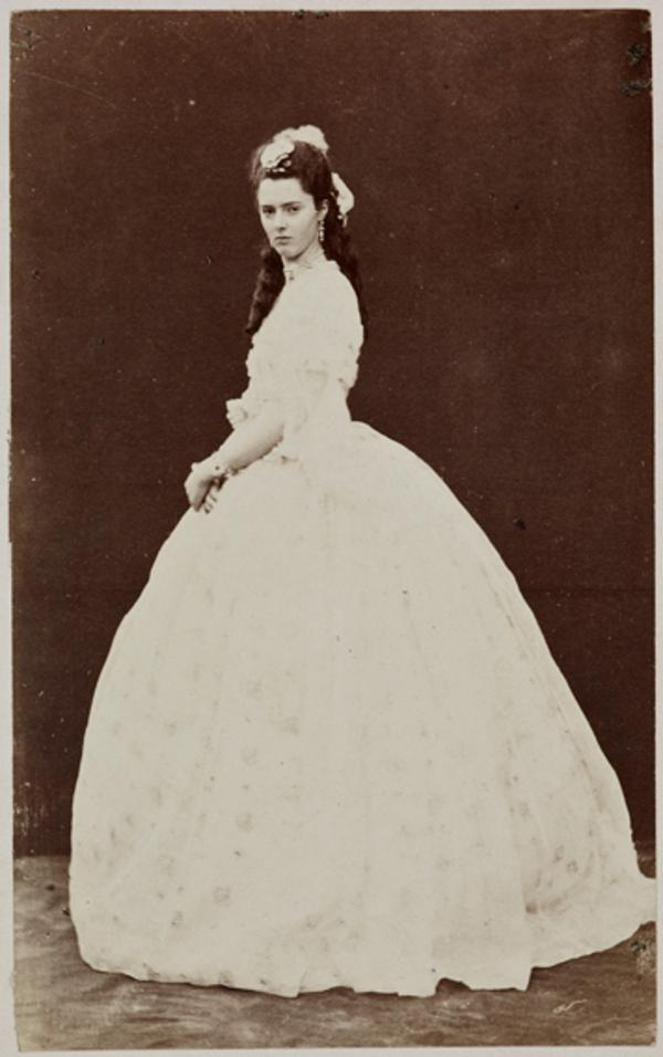 Miss G. Moncrieffe as Ellen Murray, in 'Popping the Question' (1 September 1863)