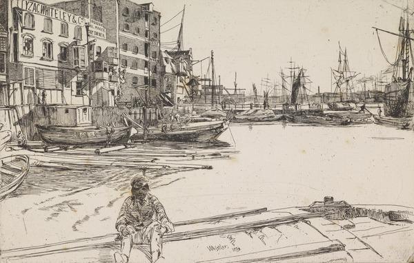 Eagle Wharf (1859)