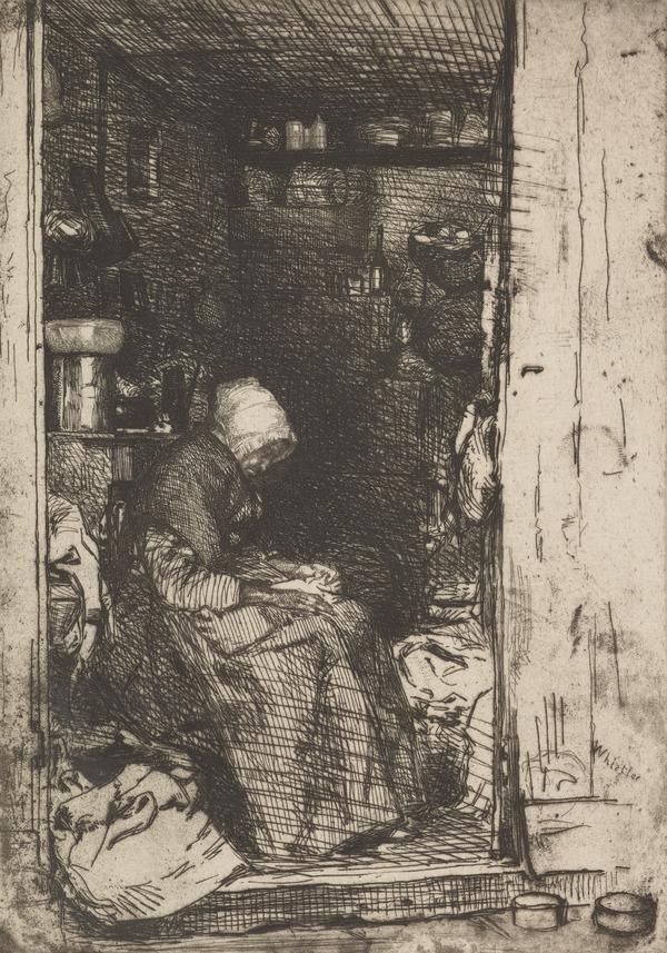 La Veille aux Loques (About 1859)