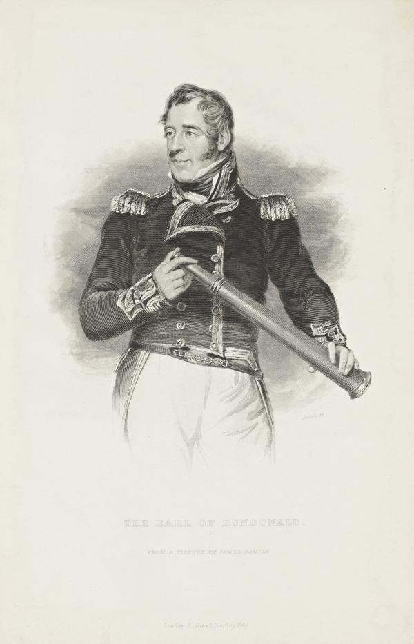 Thomas Cochrane, 10th Earl of Dundonald, 1775 - 1860. Admiral (Published 1866)
