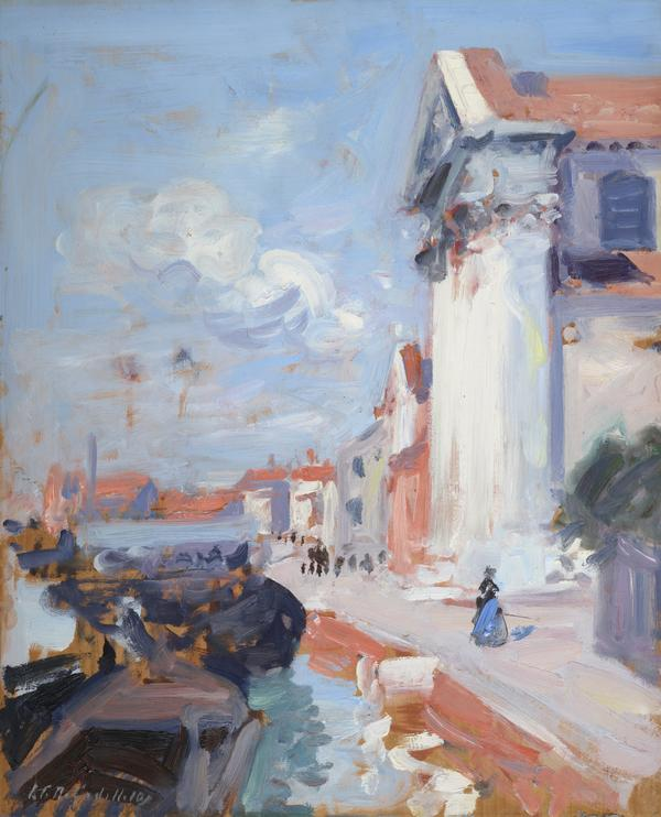 On the Canal, Venice (1910)