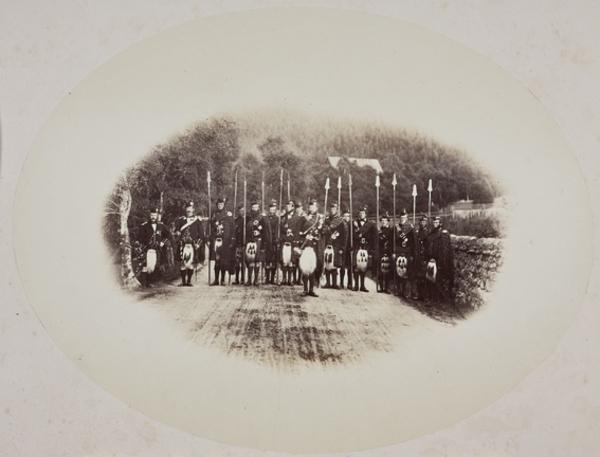 Guard of Honour to H.R.H. the Prince of Wales (August 1863)