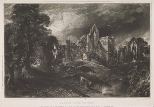 Castle Acre Priory (1838)
