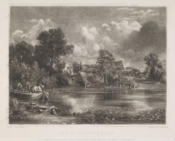 View on the River Stour (1838)