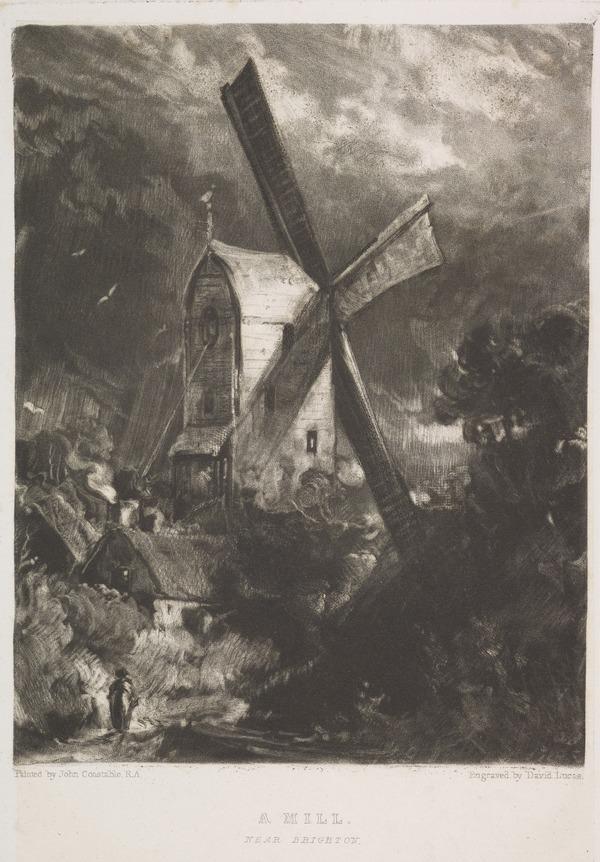 A Mill near Brighton (1838)