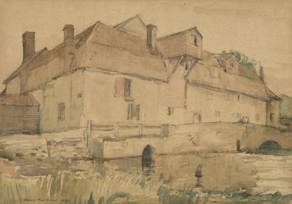 Granchester Mill, Cambridgeshire (Dated 1919)