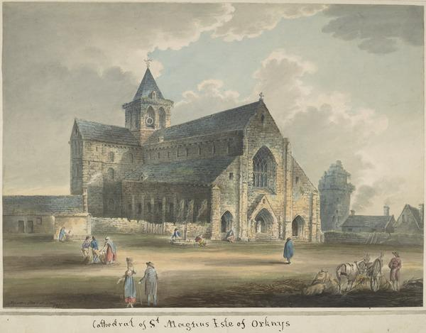 Cathedral of St Magnus, Kirkwall, Orkney (Dated June 4th, 1808)