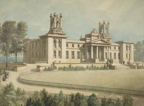 Design for the Dean Orphanage, Edinburgh (About 1830)