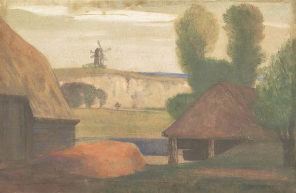 South of England Landscape (Dated 1905)