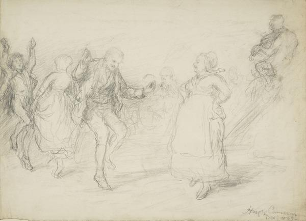 The Dance (Dated December 1865(9))