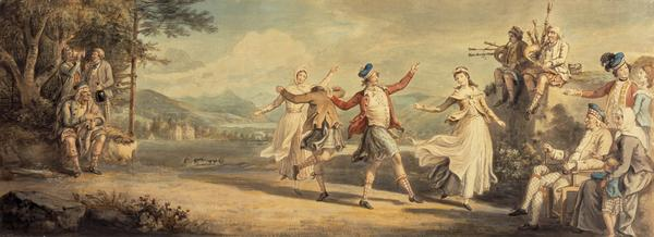 A Highland Dance (About 1780)