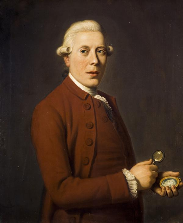James Tassie, 1735 - 1799. Sculptor and gem engraver (About 1781)