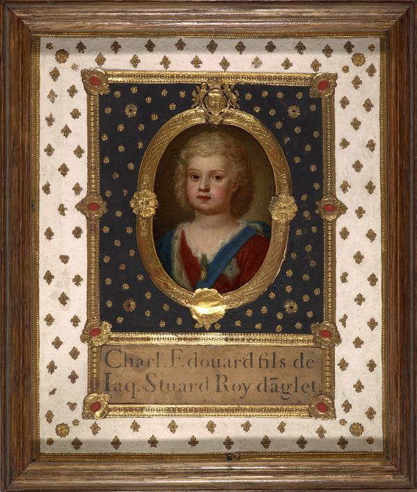 Prince Charles Edward Stuart, 1720 - 1788. Eldest son of Prince James Francis Edward Stuart (As a child) (About 1723)