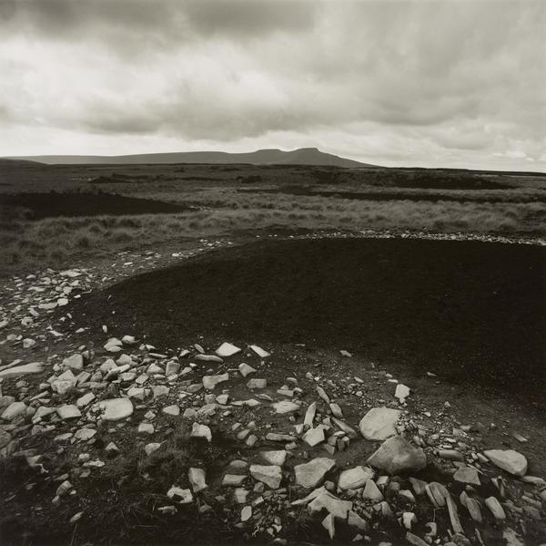 Peat and White Rocks, on Brecon Beacons, Wales (September 1986)