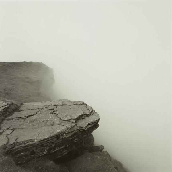 Cliff edge, Brecon Beacons, Wales (1986)