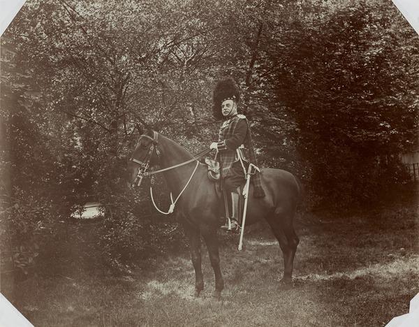 Lt. Col. Hugh Rose of Kilravock 1863 - 1946, Commanding 1st battalion of the Black Watch
