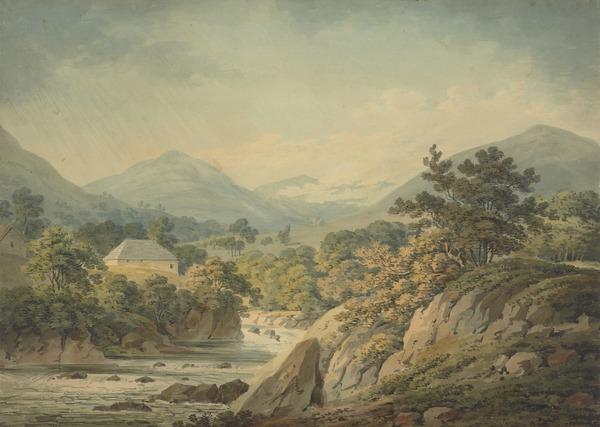 Luss Glen, Loch Lomond (Dated 1797)