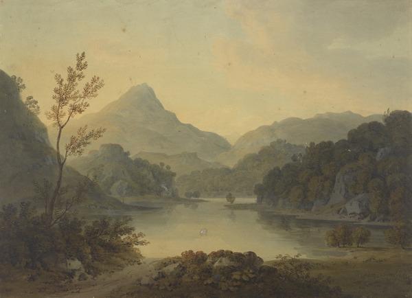 Loch Ard, Western Highlands (Dated 1803)