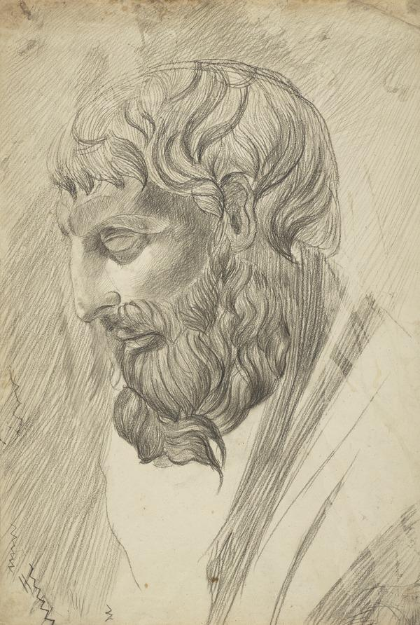 Head of a Greek Philosopher (?) (1700 - 1799)