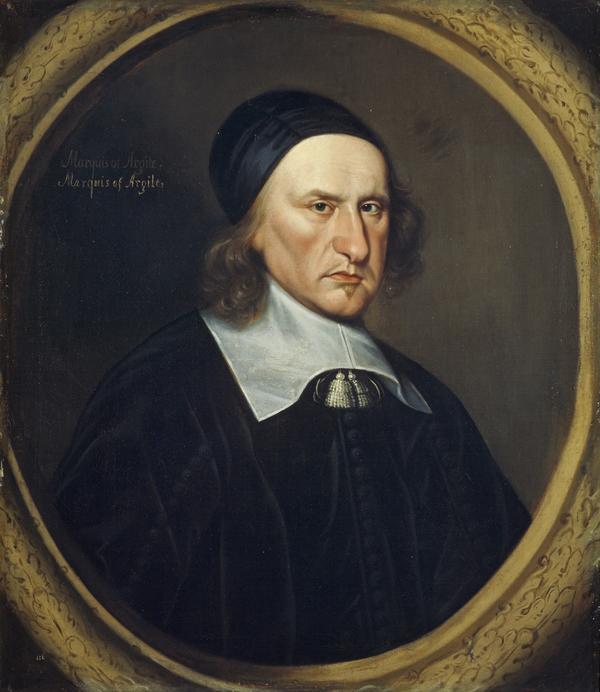 Archibald Campbell [MacCailein Mòr Gilleasbaig Fiar-shùileach], 1st Marquess of Argyll, 1598 - 1661. Statesman (About 1661)