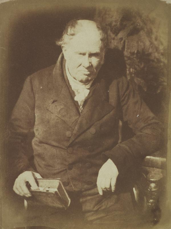 Professor Alexander Monro, 'Tertius', 1773 - 1859. Anatomist [c] (Probably 29 August 1844 (date on variant negative))