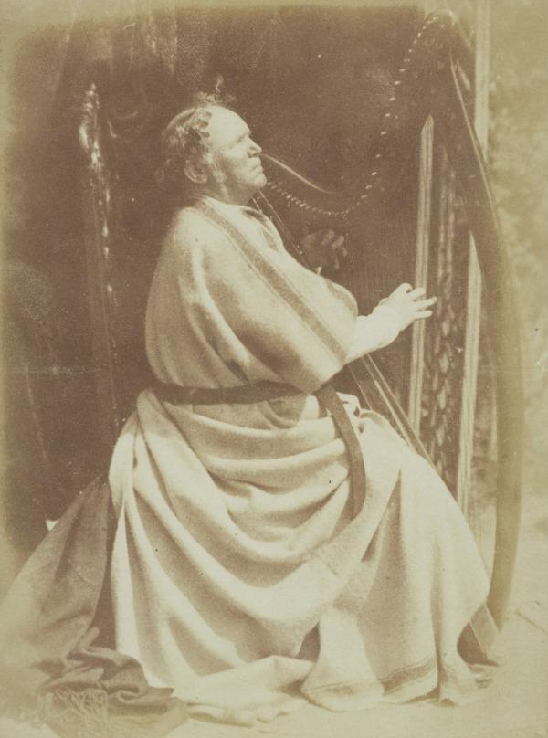 Patrick Byrne, c 1797 - 1863, Irish harpist [a] (Probably about 1 April 1845)