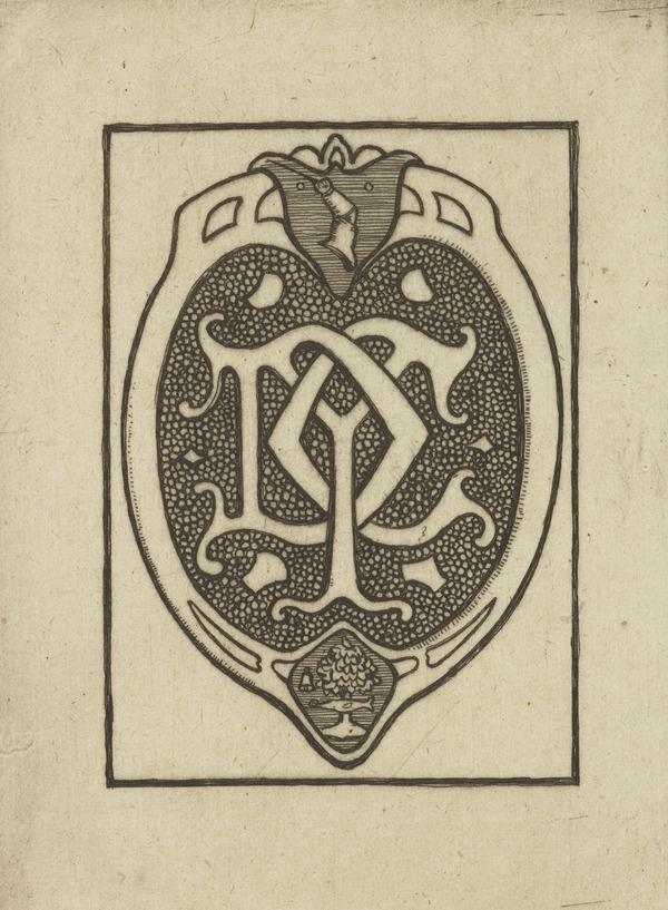 D.Y. C(ameron) (Bookplate) (1895)