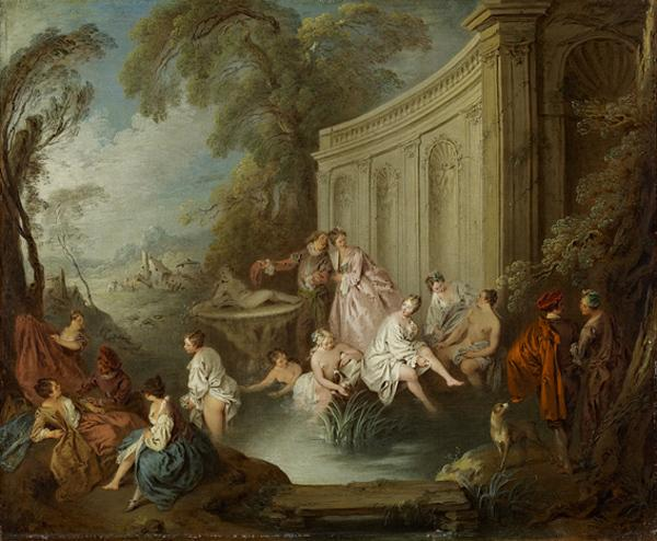 Ladies Bathing (About 1721 or before)
