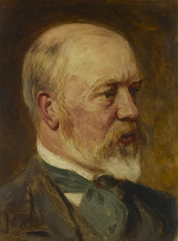 John Pettie, 1839 - 1893. Artist (About 1890 - 91)