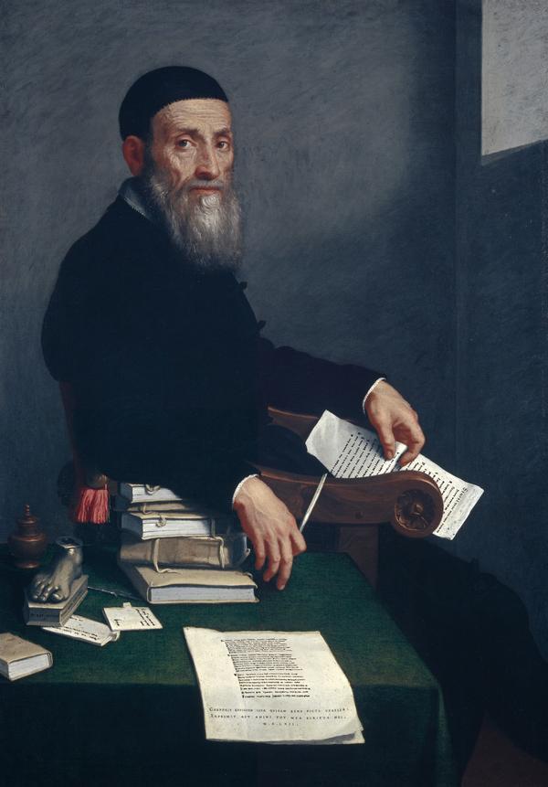 Portrait of Giovanni Bressani (1490 - 1560) (1562)
