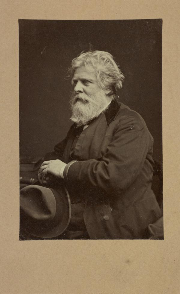 David Octavius Hill, 1802 - 1870. Artist and pioneer photographer (About 1865)