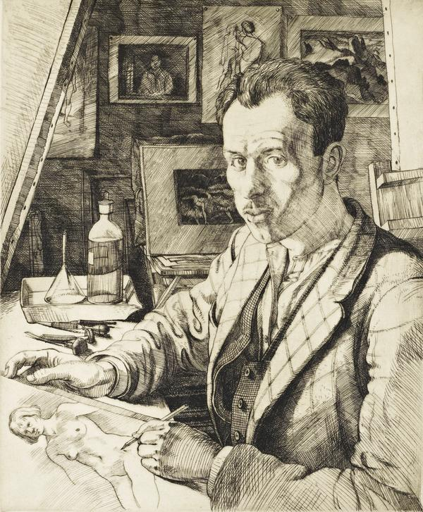Portrait of the Artist (Dated 1937)