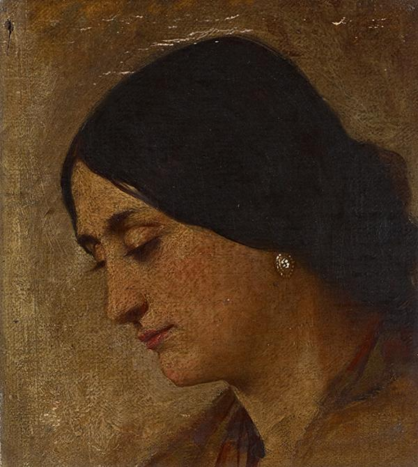 The Head of a Woman (1850s - 1860s)