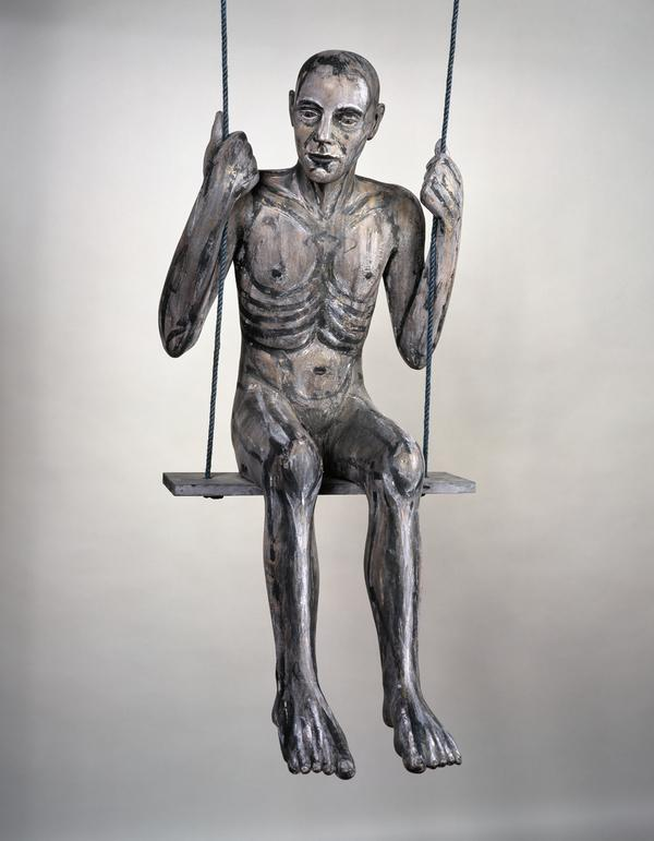 Figure on a Swing (painted version)