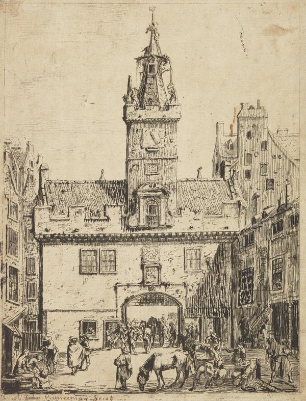 The Netherbow Port (1764)