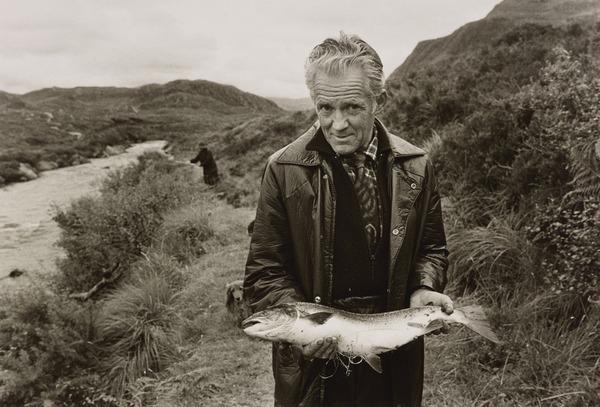 Gillie with Fish from the series 'The Scottish Sporting Estates' (1984)