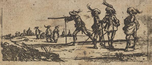 Soldiers in Seventeenth Century Costume