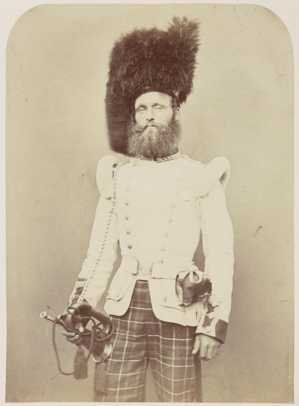 John Rennie 'Trumpeter - 72nd Highlanders' from the series 'Crimean Heroes' (1856)