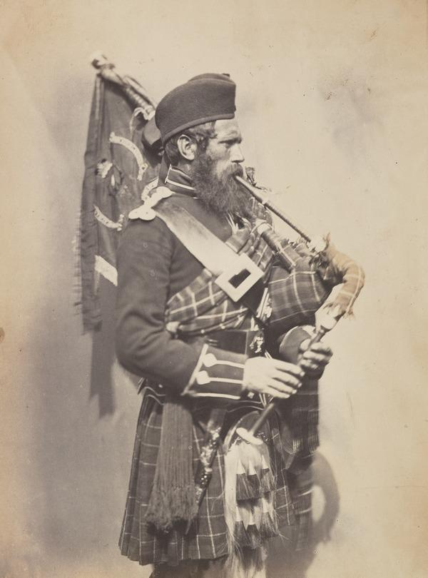 John McDonald 'Piper of the 72nd Highlanders' from the series 'Crimean Heroes'
