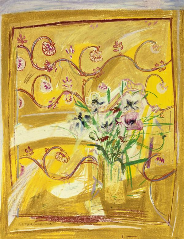 Flowers on an Indian Cloth (1965)