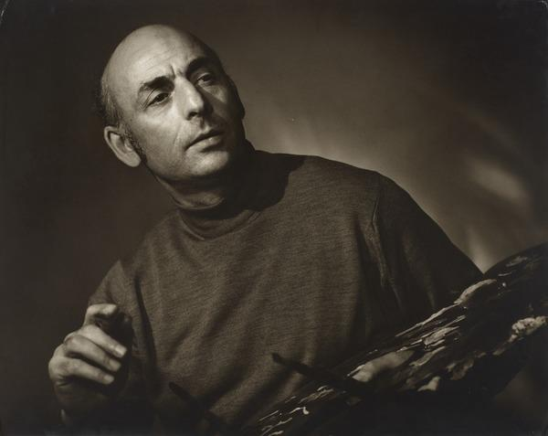 Alberto Morrocco, b. 1917. Artist (1991)