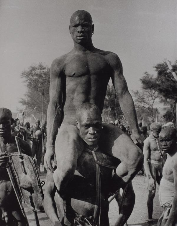 The Wrestlers, Kordofan, Southern Sudan (1949)
