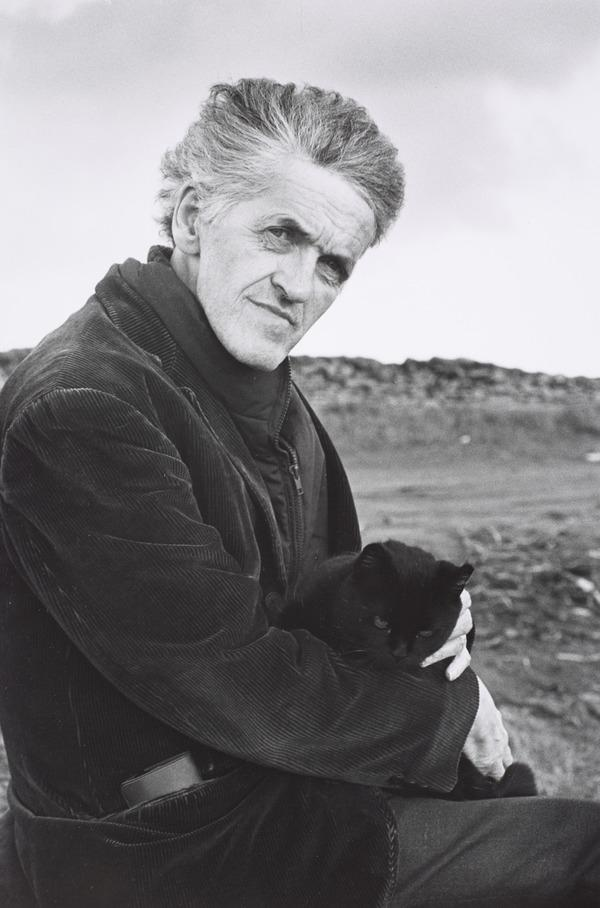George Mackay Brown with Gypsy (1990)