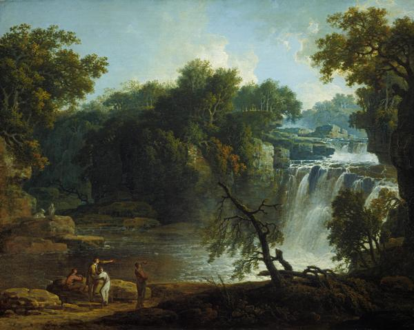 The Falls of Clyde (Corra Linn) (probably 1771)