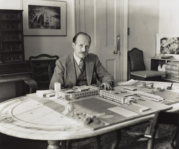 Sir Basil Urwin Spence, 1907 - 1976. Architect (1949)