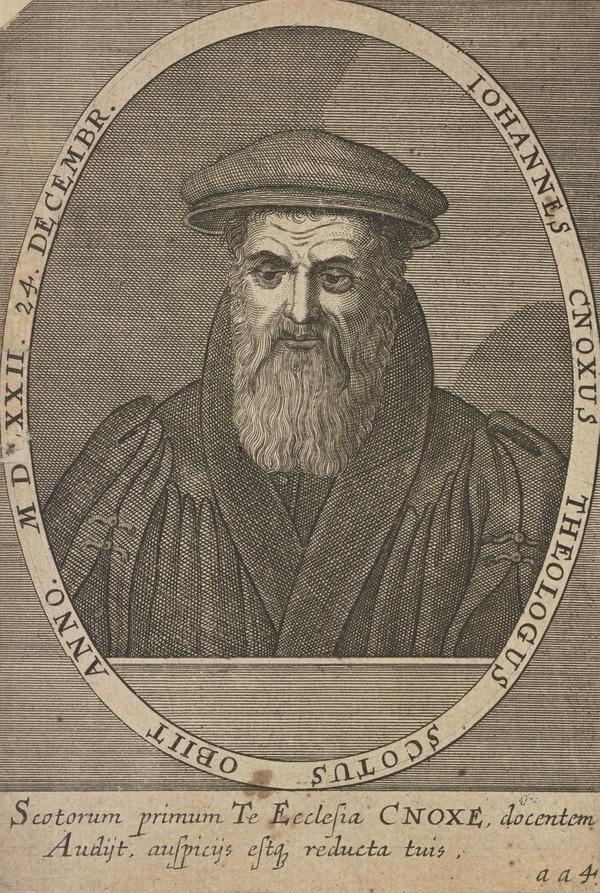 John Knox, 1505 - 1572. Reformer and historian (Published 1602)
