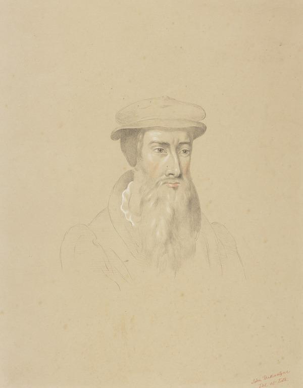 John Knox, 1505 - 1572. Reformer and historian