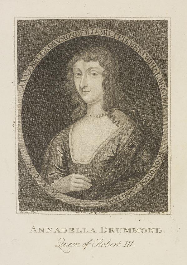 Anabella Drummond, d. 1401. Queen of Robert III (1797)